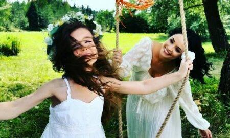 Cât de frumoasă este fiica Andreei Marin și a lui Ștefan Bănică Junior, la doar 13 ani.