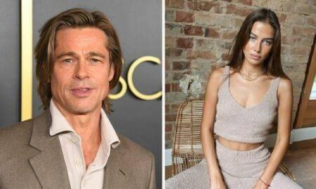Brad Pitt și Nicole Poturalski flirtau la concertul lui Kanye West, cu 9 luni înainte de știrile despre relația lor