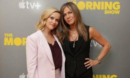 """Jennifer Aniston explică de ce filmările pentru """"The Morning Show"""" au fost ca """"20 de ani de terapie"""""""