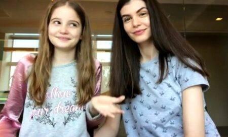 Iat-o pe fiica lui Irinel Columbeanu și al Monicăi Gabor la 13 ani! Este o adevărată domnișoară