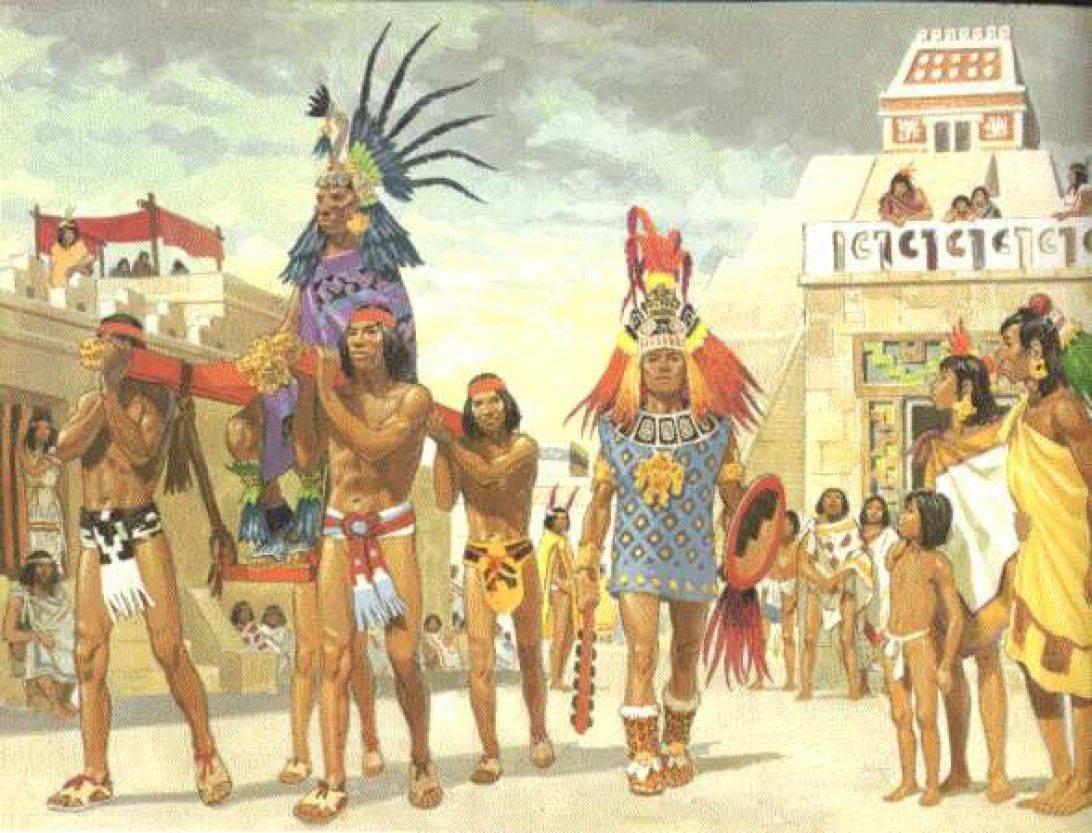 Asemănări între divinitățile culturilor de mayași și azteci