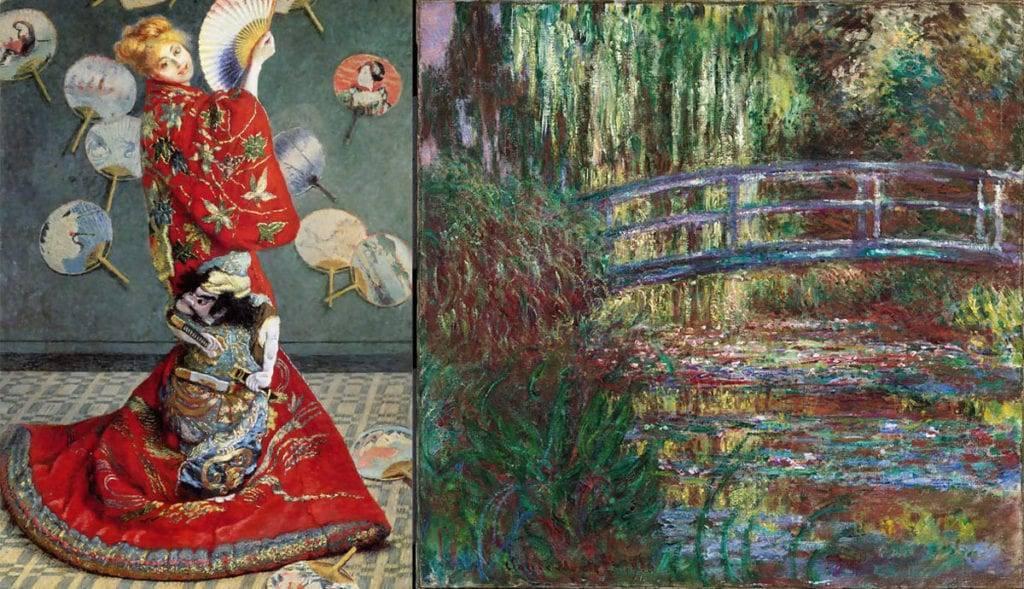 Japonismul: asta are în comun arta lui Claude Monet cu arta japoneză