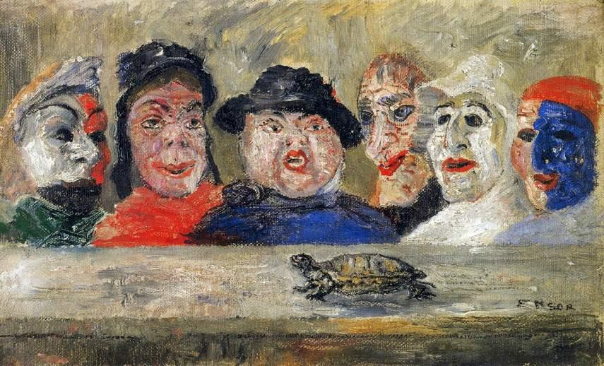 Opera artistului belgian James Ensor. Un observator entuziast al naturii și un maestru al fantasticului