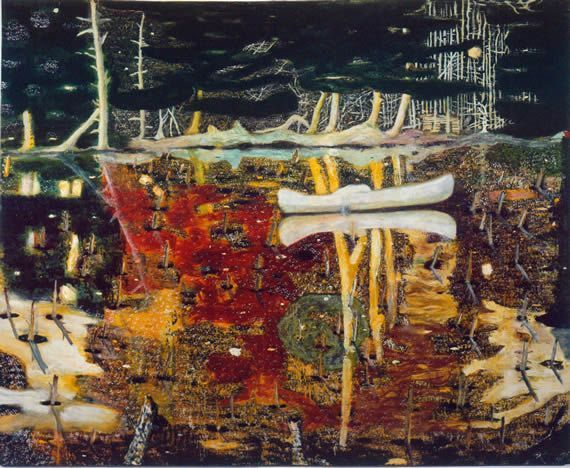 Peter Doig Revoluționarea picturii peisagistice