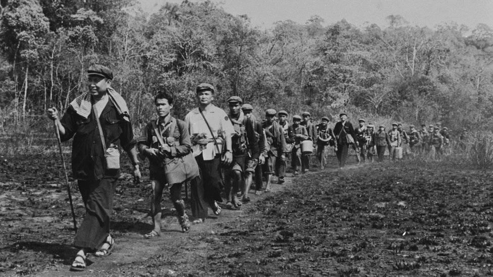 Khmer Rouge Origini ale regimului, cronologie și declin