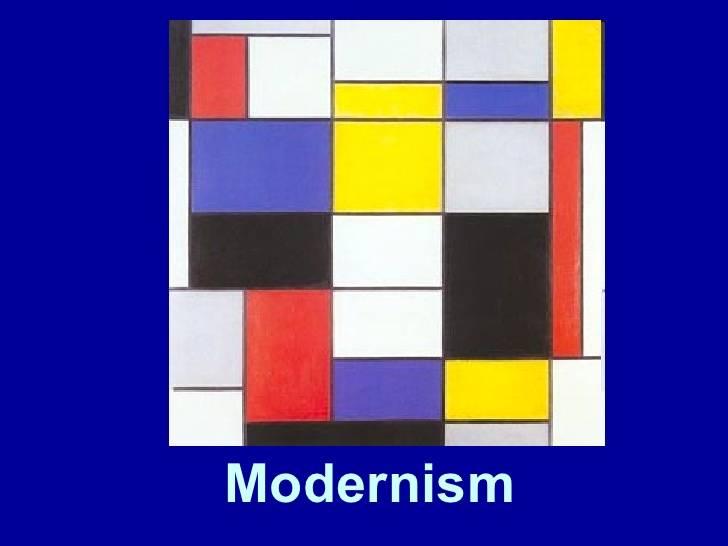Modernismul văzut prin intermediul operelor de artă