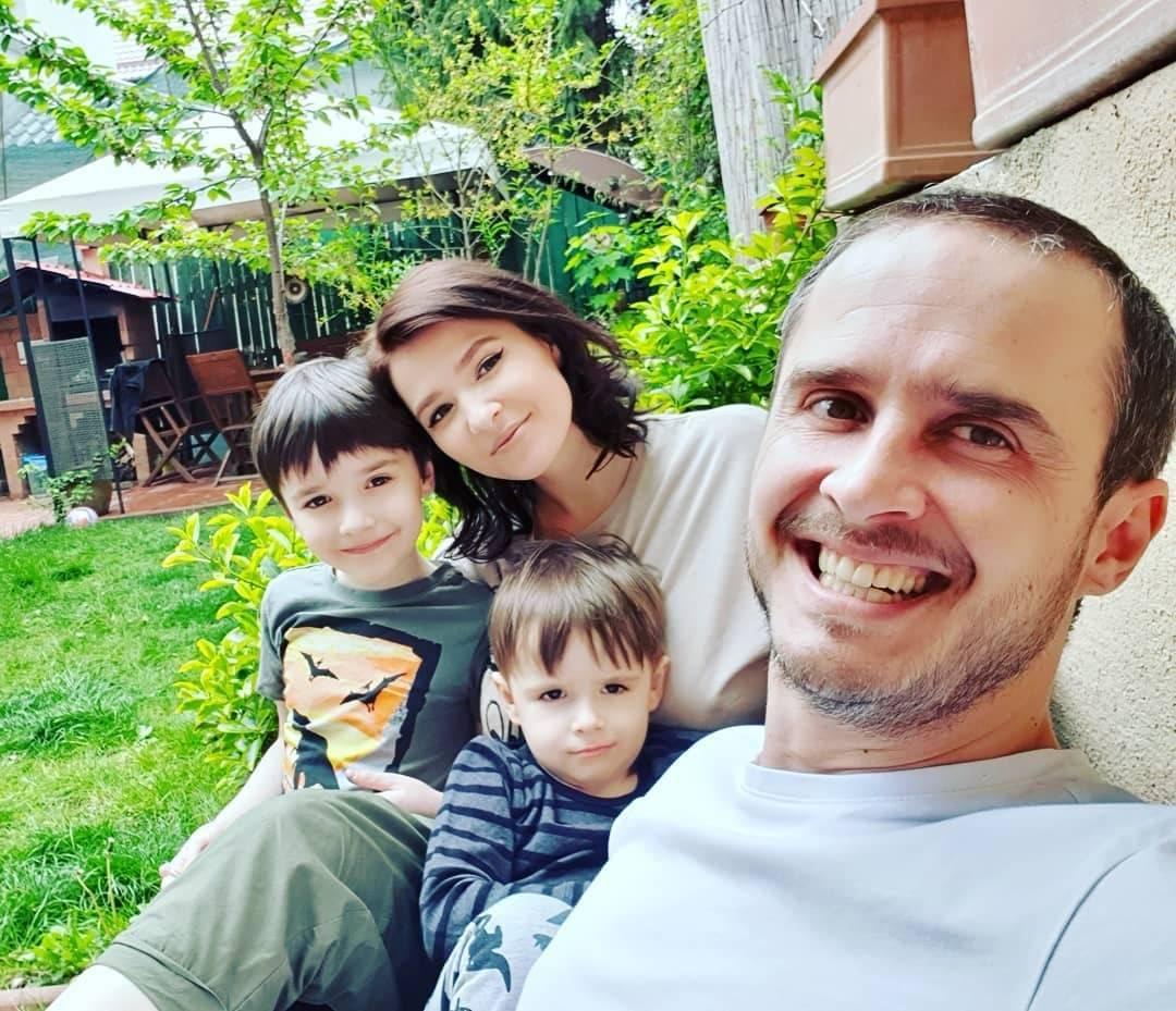 Șerban Copoț este din nou tătic. Soția lui a născut astăzi pentru a treia oară