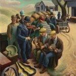 Thomas Hart Benton artistul care a reușit să pună America pe hata artei