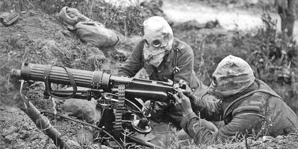 Ce arme au fost folosite în Primul Război Mondial?