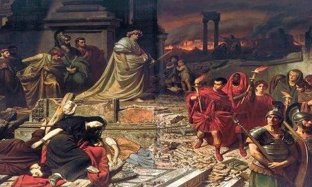 Împăratul Nero recunoscut pentru brutalitatea în conducerea Imperiului Roman