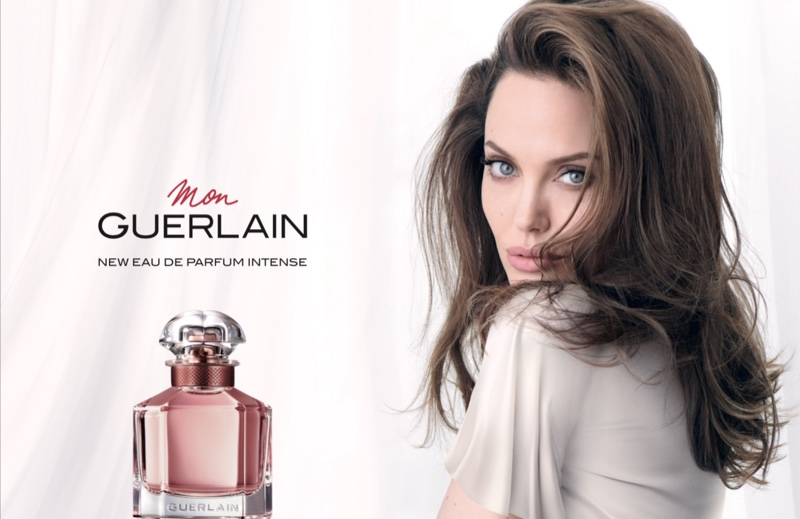 Angelina Jolie, muza noului parfum Guerlain