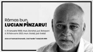 Lucian Pânzaru s-a stins din viață la doar 53 de ani! Lumea Teatrului din Galați se află acum în doliu