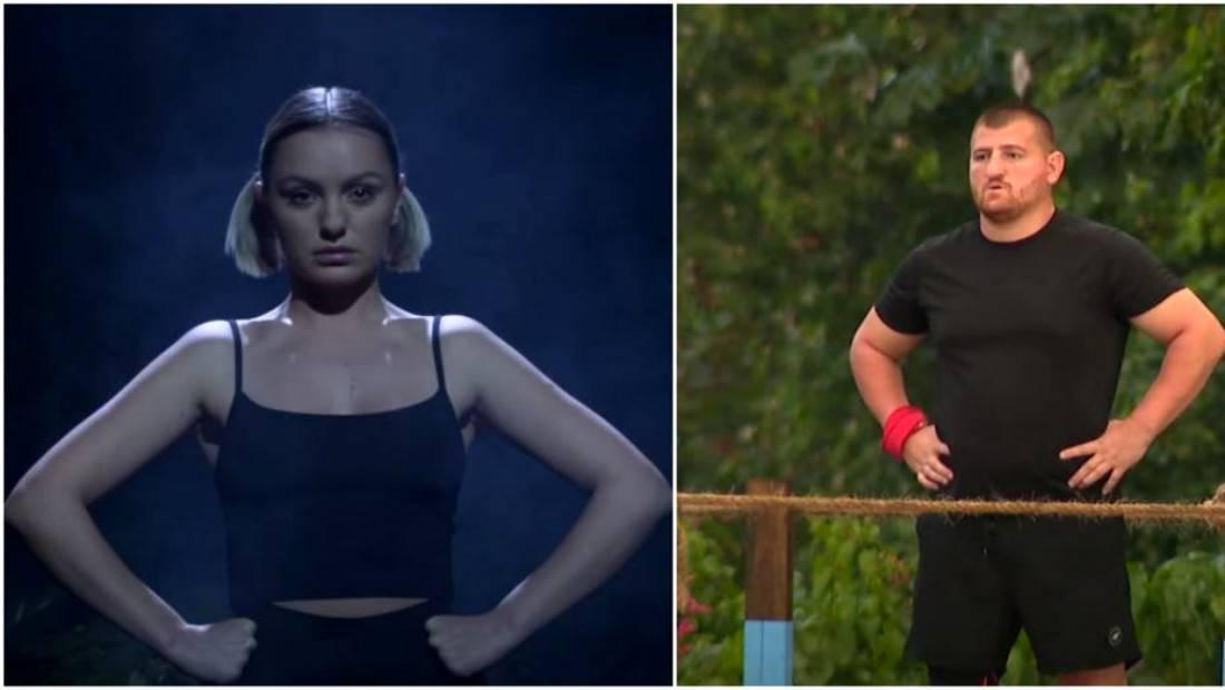 Un nou scandal are loc în echipa Faimoșilor! Cătălin Moroșanu s-a certat foarte tare cu Alexandra Stan