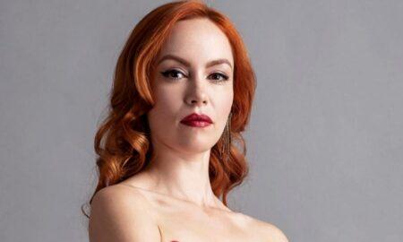 """Olimpia Melinte, actrița principală din """"Vlad"""", a născut o fetiță! Iată primele imagini cu proaspăta mămică"""