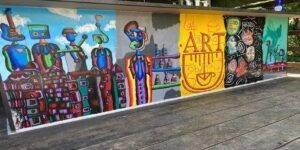 Antonio Doda, Pictură pe perete Art Cafe Downtown