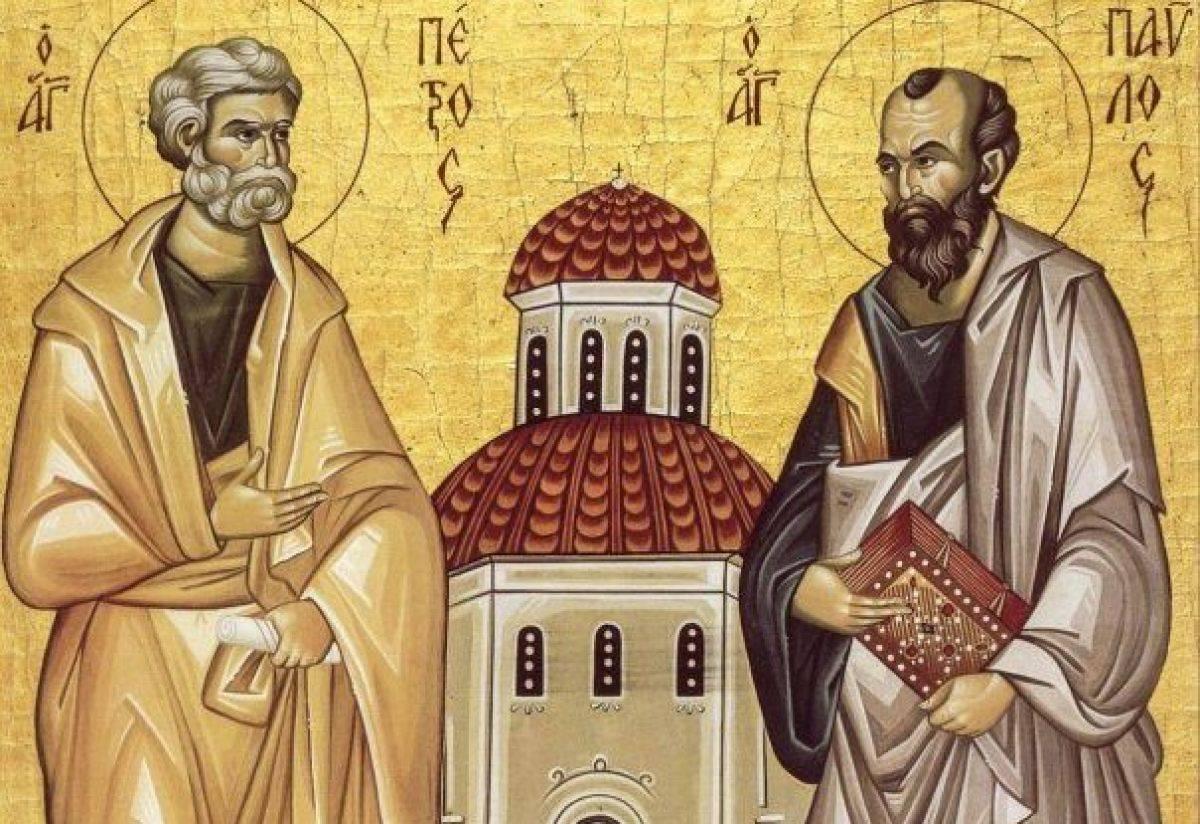 Zi de mare sărbătoare pentru români! Cea mai puternică rugăciune către Sfinții Petru și Pavel