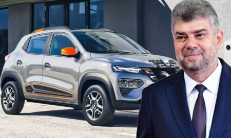 """Marcel Ciolacu a făcut o gafă de zile mari! Dacia Spring făcută """"la noi"""" este de fapt importată din China"""