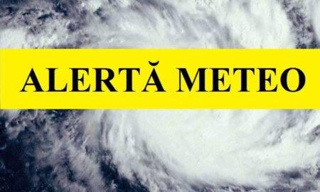 Alertă meteo! Cod Galben de ploi în mai multe județe din România