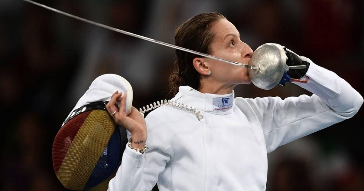 Sâmbătă cu noroc pentru România! Scrimera română Ana-Maria Popescu a ajuns în semifinalele de la Tokyo