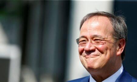 Potențialul succesor a lui Markel, prima reacție, după ce a râs în timpul discursului despre inundații