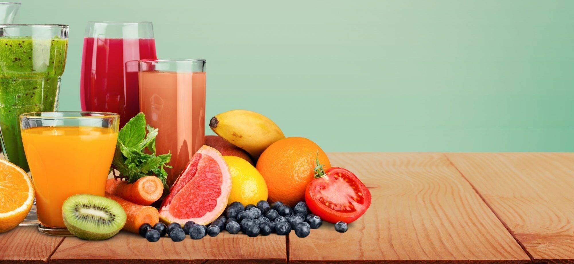Beneficiile pe care sucurile de fructe le au pentru sănătatea omului