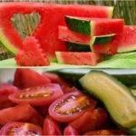 Care este motivul pentru care este sănătos să consumi roșii, castraveți și pepene vara?