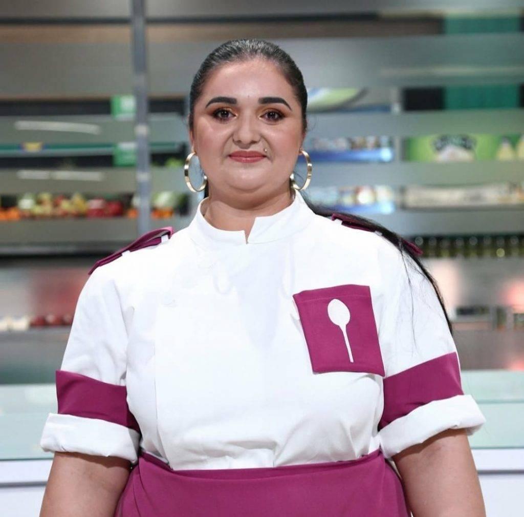 Narcisa Birjaru a obținut un post în bucătăria hotelului lui Cristi Borcea