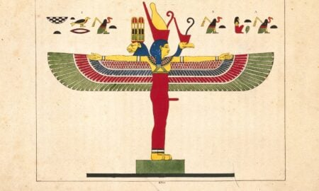Zeița egipteană Neith, creatoarea lumii și mama zeului Soare