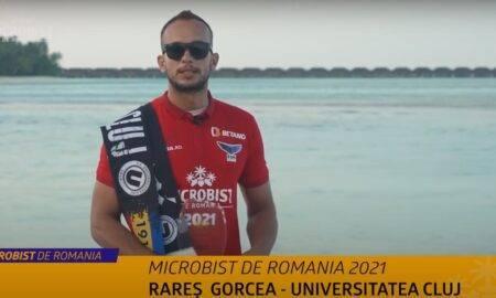 """Rareş Gorcea, suporterul U Cluj, este câştigătorul """"Microbist de România"""""""