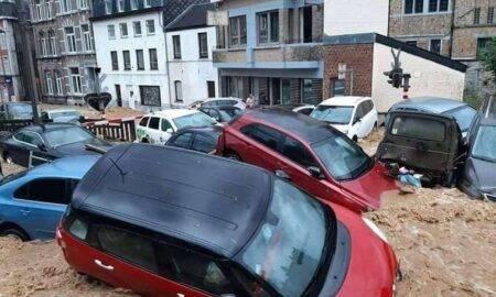 Inundațiile au lovit din nou Belgia! Furtunile au făcut ravagii în teritoriu