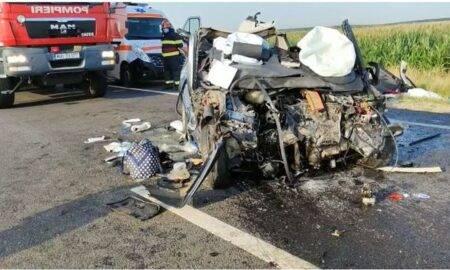 Accident cumplit în Olt! Trei persoane au murit pe loc