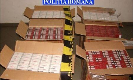 Încă un traficant a fost prins în Suceava! Contrabanda cu țigări, la ea acasă