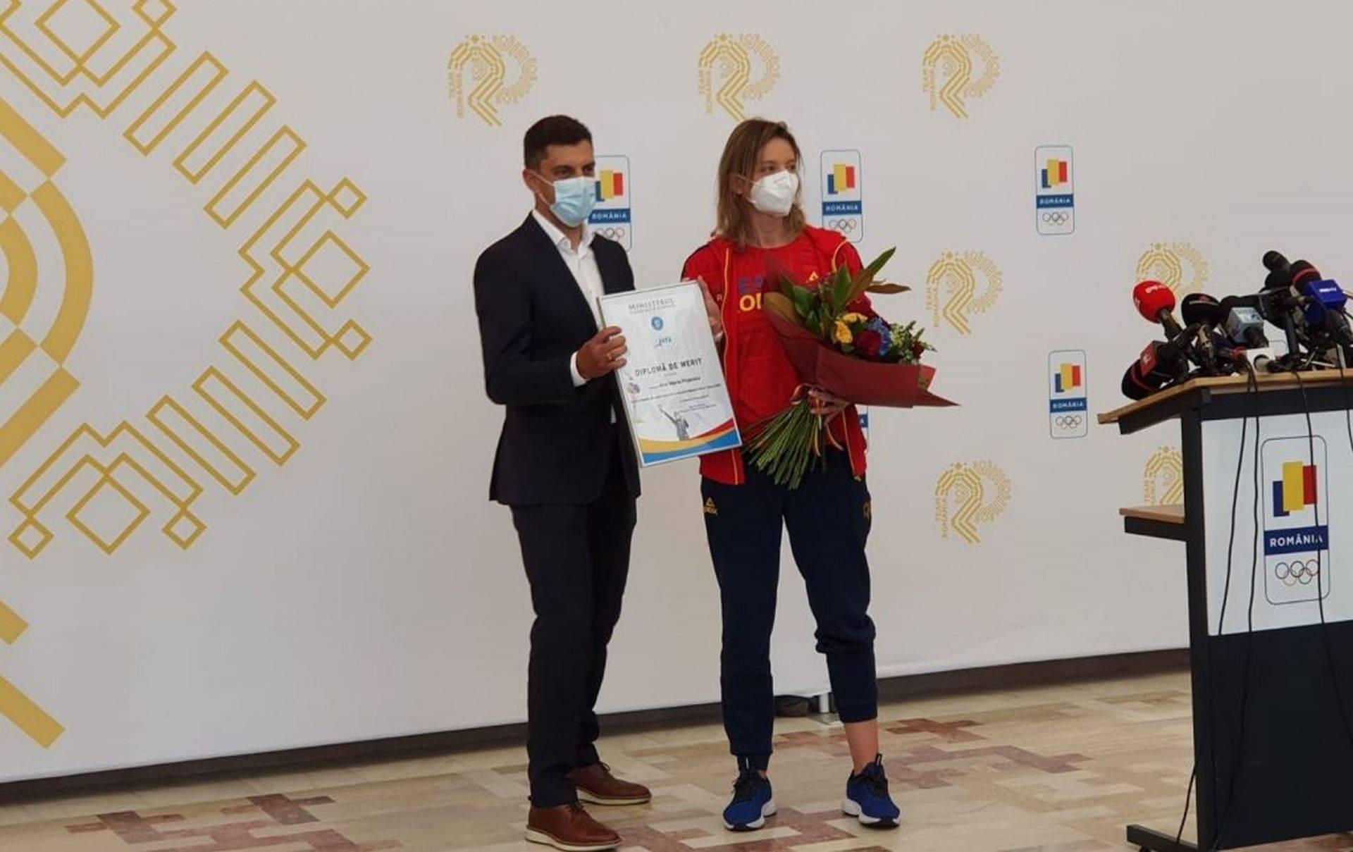 """Ana Maria Popescu, replică pentru ministrul Novak:,,Îmi doresc…să ajungeți la Tokyo și să luați aurul acela"""""""
