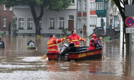 Angela Merkel, primele declarații după ce Germania a fost afectată de inundații