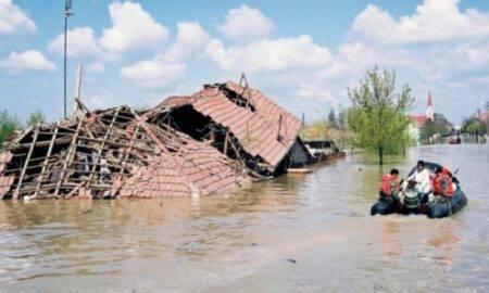 Cod roșu de inundații și vreme severă în România