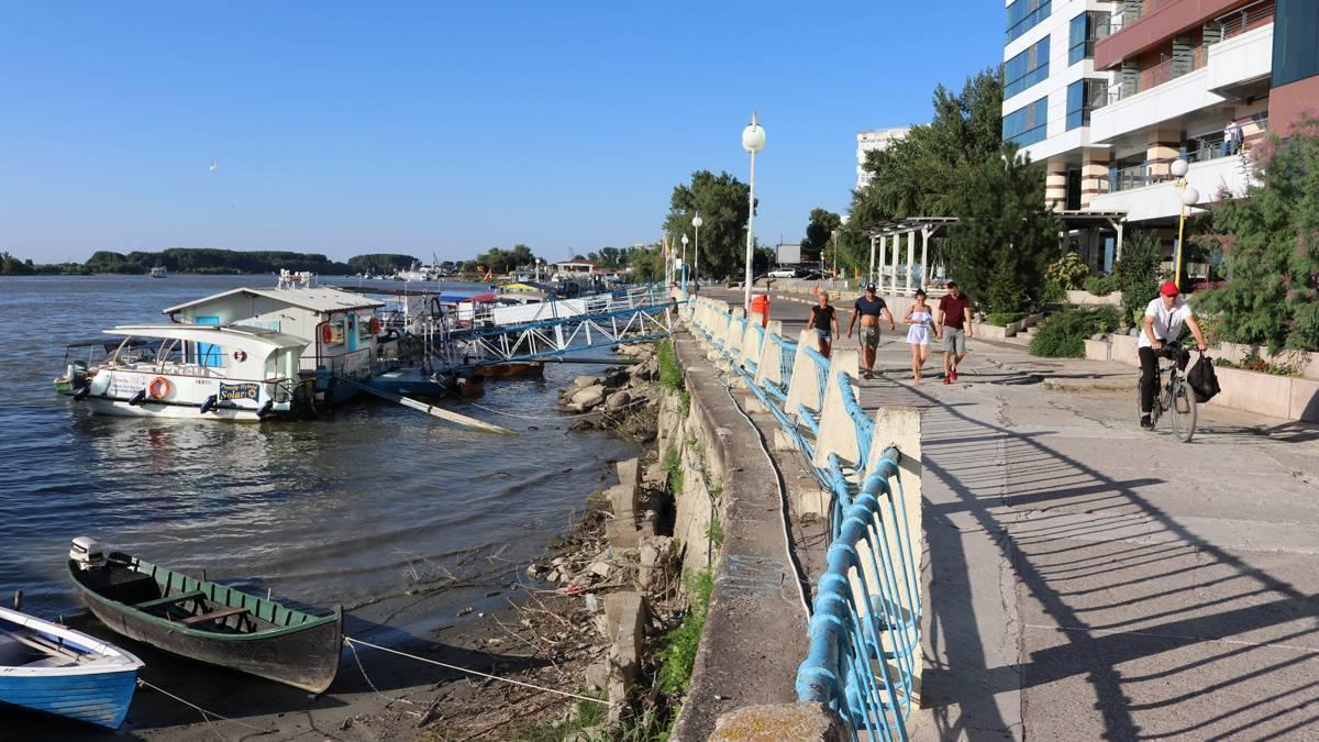 Faleza Dunării va fi modernizată