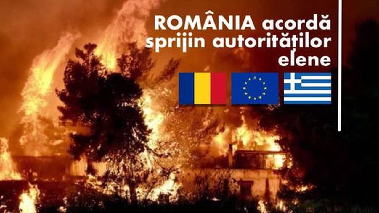Modulul terestru de asistență pentru stingerea incendiilor pleacă astăzi în Grecia
