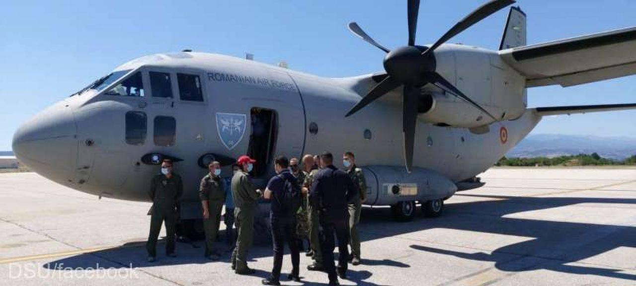 România a intervenit în Macedonia de Nord! Primele două misiuni au fost desfășurate la incendiile de vegetație