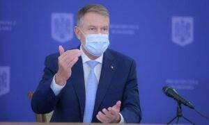 """Klaus Iohannis:,,Instituirea unor măsuri clare, restrictive, singurele care mai pot diminua în acest moment răspândirea"""""""