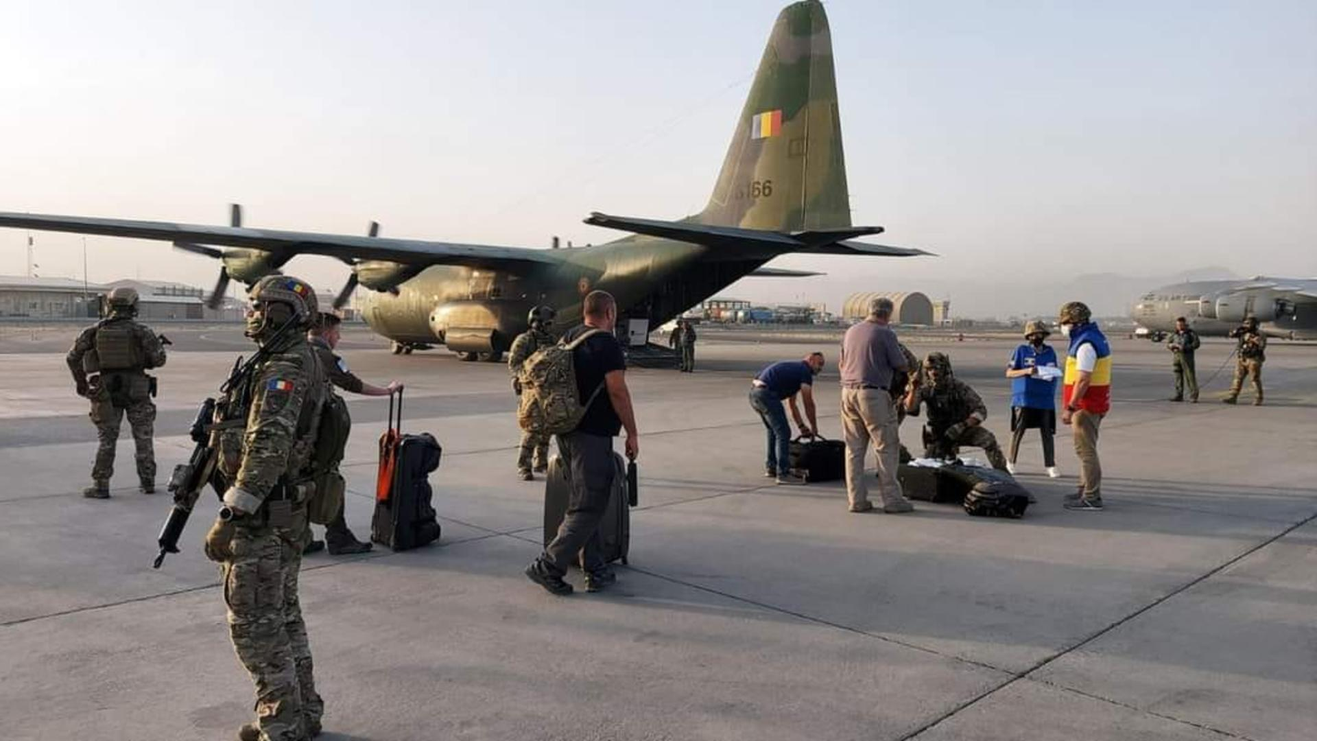 Forțele Aeriene Române au reușit să evacueze încă un român din Afganistan