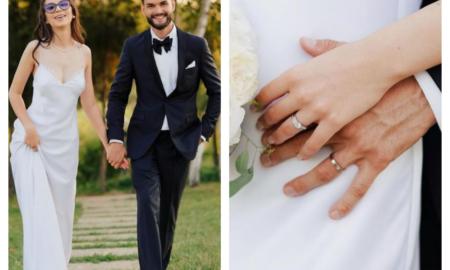Toate detaliile despre nunta momentului. Cleopatra Stratan și Edward Sanda au devenit oficial soț și soție