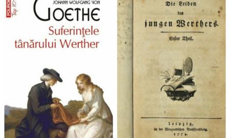 """""""Suferințele tânărului Werther"""" - capodoperă sau îndemn la sinucidere? O operă ce a stârnit atâtea controverse"""