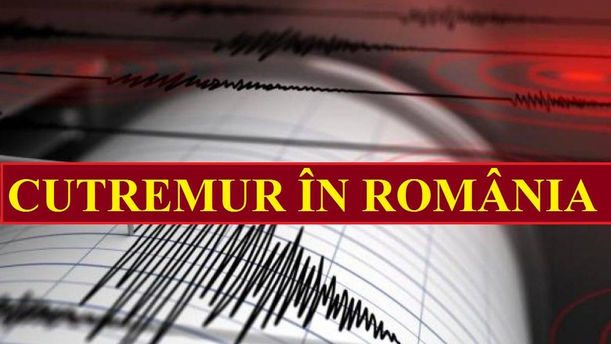 Trei noi cutremure s-au produs în România