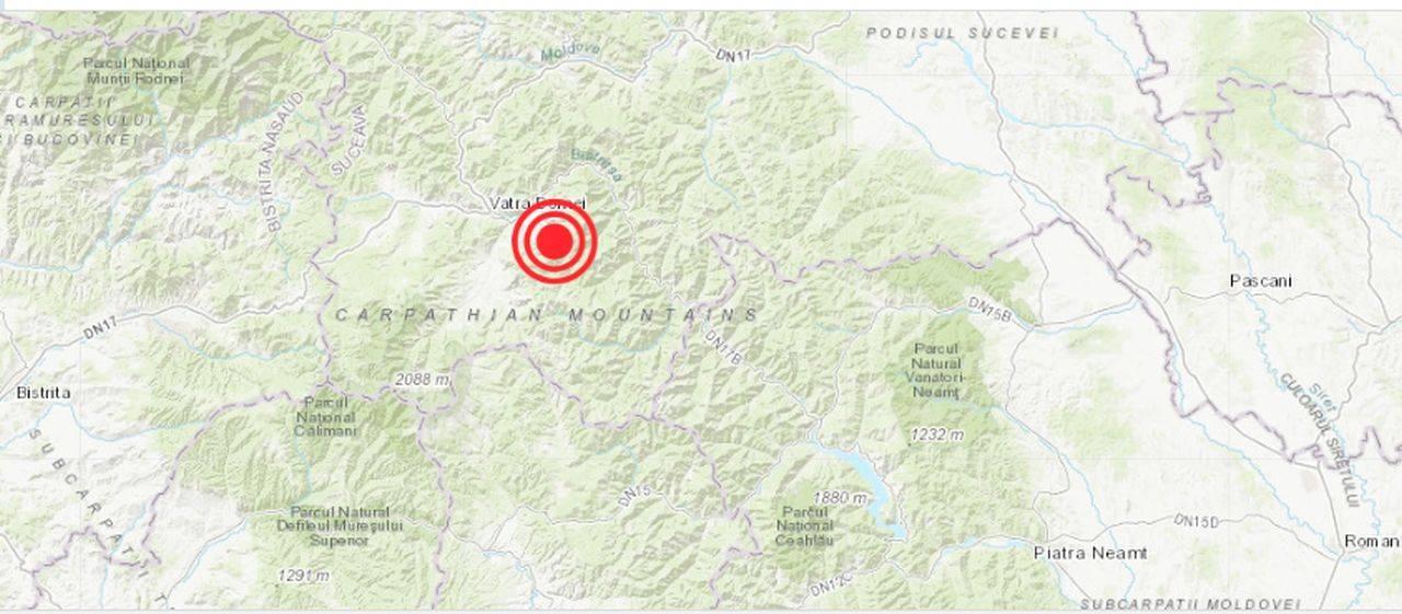 Cutremur într-o zonă atipică din România! Seismul a fost unul de suprafață