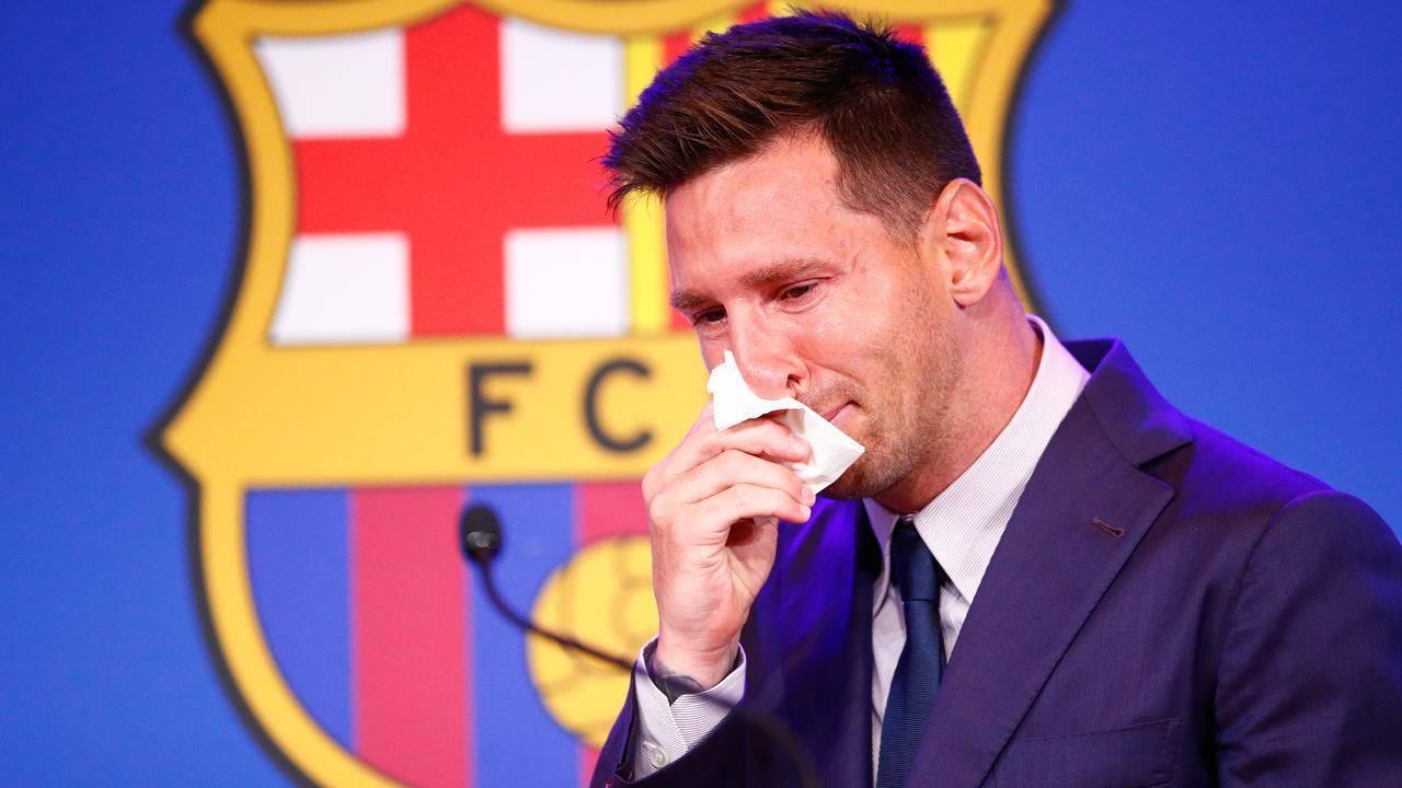 """Messi a izbucnit în lacrimi la conferința de despărțire de FC Barcelona: ,,Astăzi trebuie să spun rămas bun"""""""