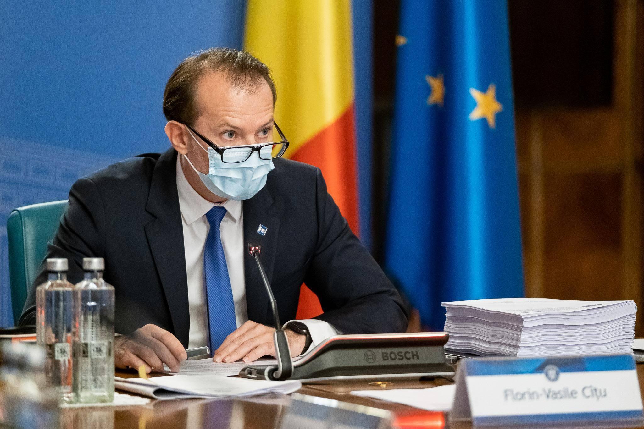 Premierul Cîțu declară că rectificarea bugetară nu va aduce tăieri la Ministerul Muncii