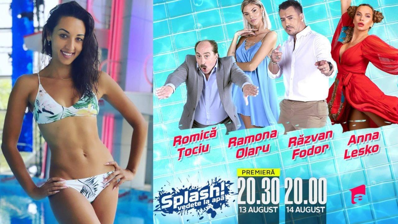 """Natalia Duminică, vedeta ce va concura la """"Splash! Vedete la apă"""". Cine este concurenta și cu ce se ocupă"""