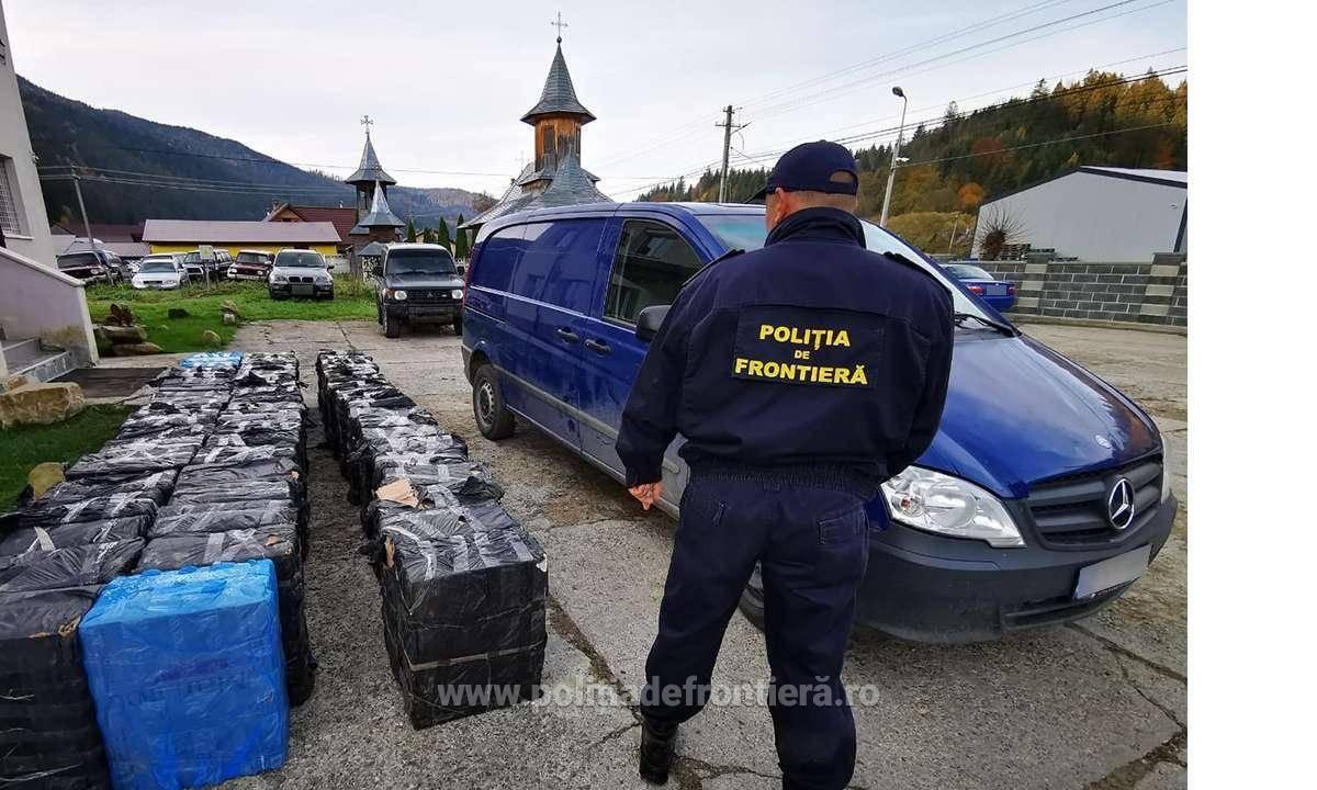 România, campioană la contrabanda cu țigări! Mii de pachete au fost identificate de polițiștii de frontieră