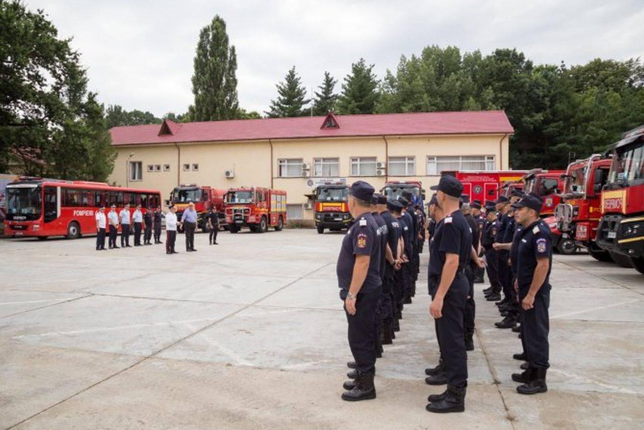 Premierul Cîțu, mesaj pentru pompierii români care au finalizat cu succes misiunea în Grecia