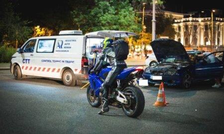 Polițiștii și inspectorii RAR au ieșit pe străzile din Capitală. Zeci de șoferi s-au ales cu amenzi